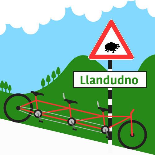 pronunciation of Llandudno